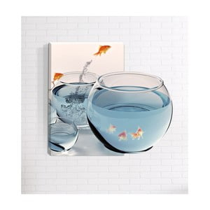 Nástěnný 3D obraz Mosticx Rybičky, 40 x 60 cm