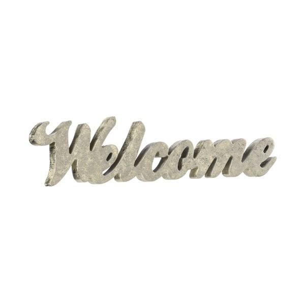 Dekorativní nápis Welcome Silver