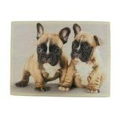 Předložka French Bulldog Puppies 75x50 cm