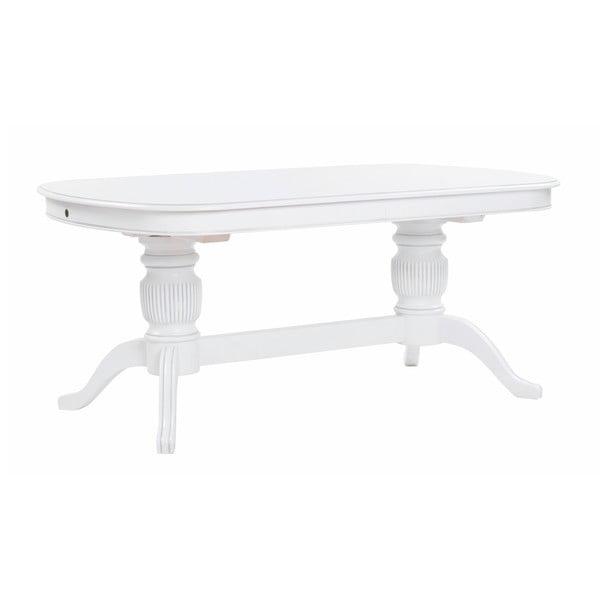 Bílý dřevěný jídelní stůl Folke Mozart Constanze, délka 170 cm