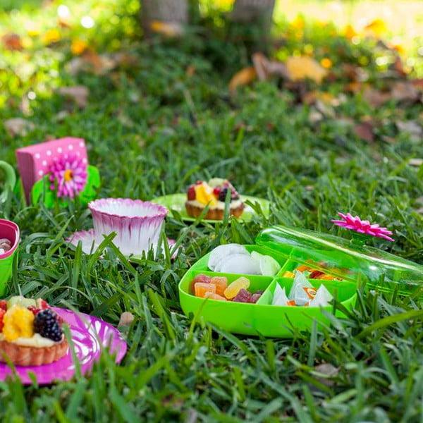 Plastová dóza s přihrádkami Vigar Garden