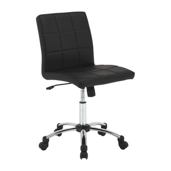 Czarny fotel biurowy Actona Hot