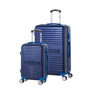 Sada 2 cestovních kufrů na kolečkách Teddy Bear Kristina