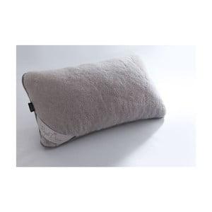 Vlněný šedý polštář Royal Dream Grey,40x70cm