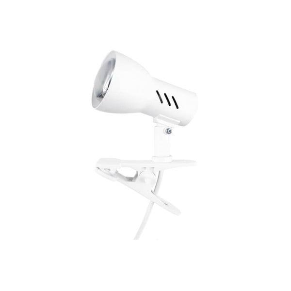 Bílá stolní lampa na klips BRITOP Lighting Cspot White