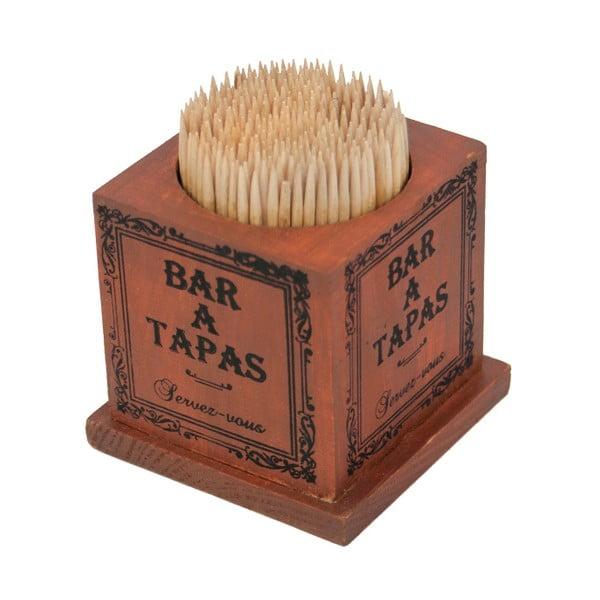 Pojemnik drewniany na wykałaczki Antic Line Tapas