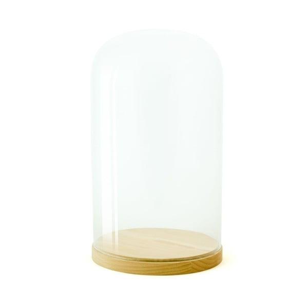 Skleněná vitrínka Wireworks Pleasure Dome Beech, 33 cm