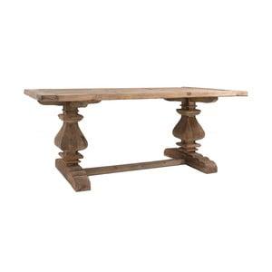 Masă din lemn de pin reciclat VICAL HOME Abo