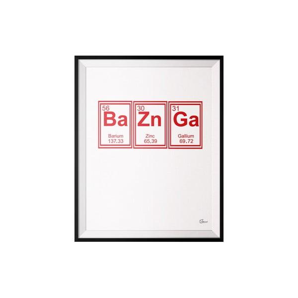 Plakát Bazinga, 50x70 cm