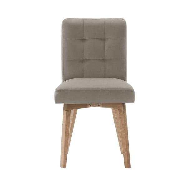 Svetlosivá jedálenská stolička Rodier Haring