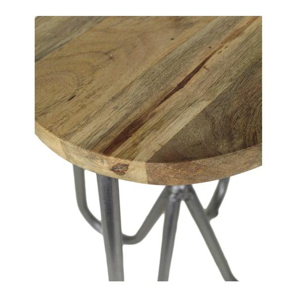 Stolička z mangového dřeva HSM collection Elina