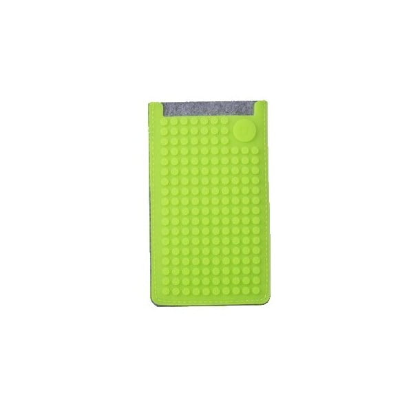 Univerzální malý obal na telefon PixelArt, grey/aqua green