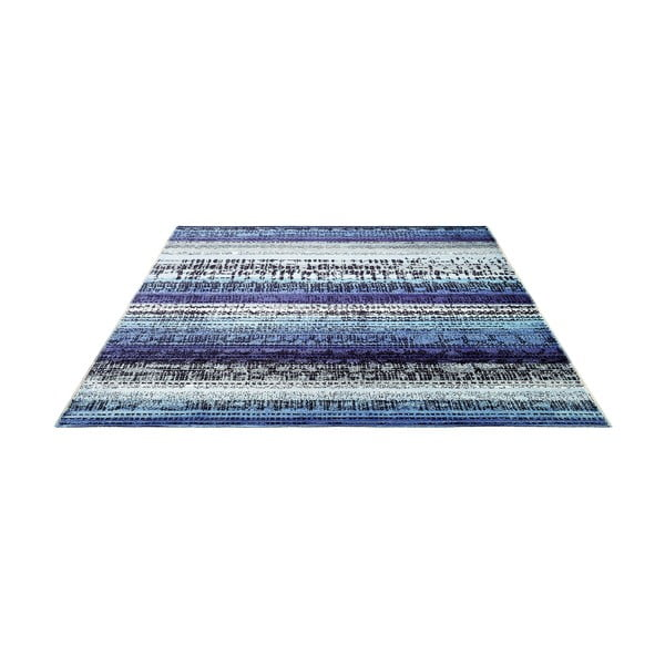 Koberec Esprit Graphic Edge Blue, 120x180 cm
