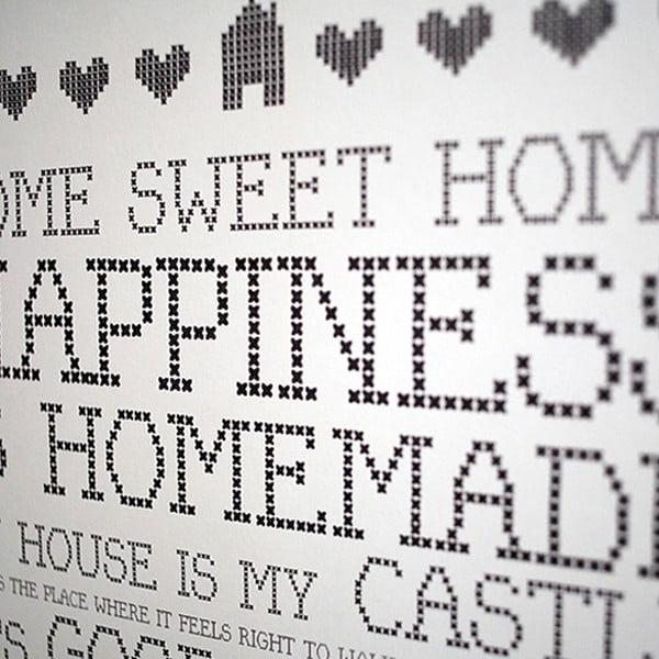 Plakát Karin Åkesson Design Home Sweet Home, 30x40 cm