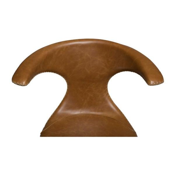 Světle hnědá kožená židle DAN-FORM Denmark Flair