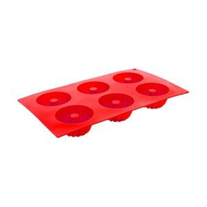 Formă din silicon pentru 6 mini checuri Banquet Culinaria