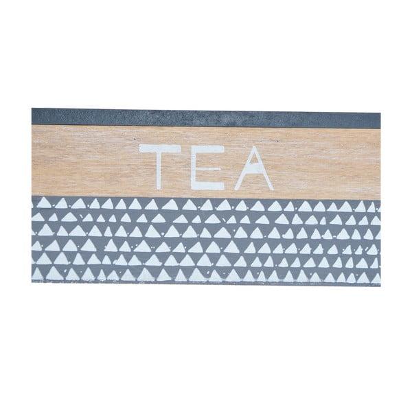 Modrá krabička na čaj Ewax Tea