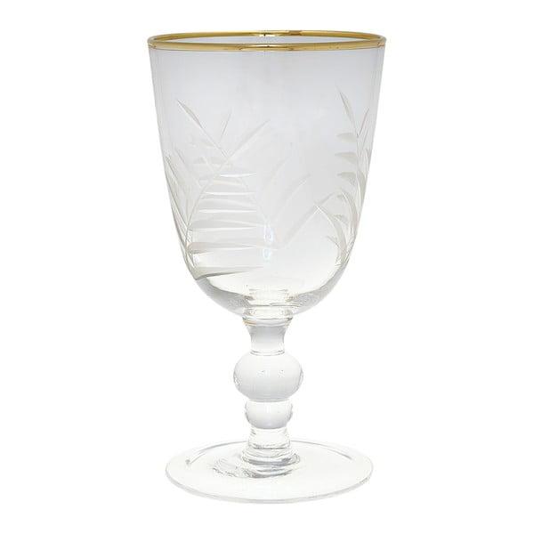 Brúsený pohár na víno Green Gate Wine