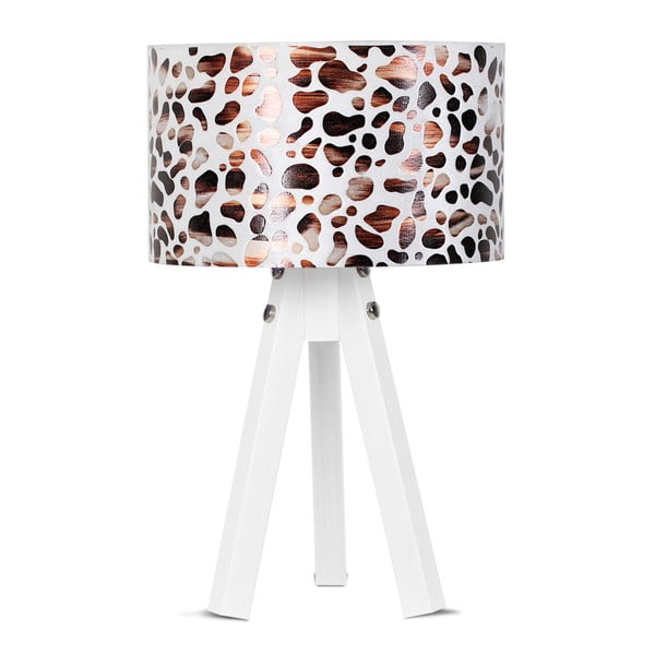 Stolní lampa Kate Louise Bianca Leopard