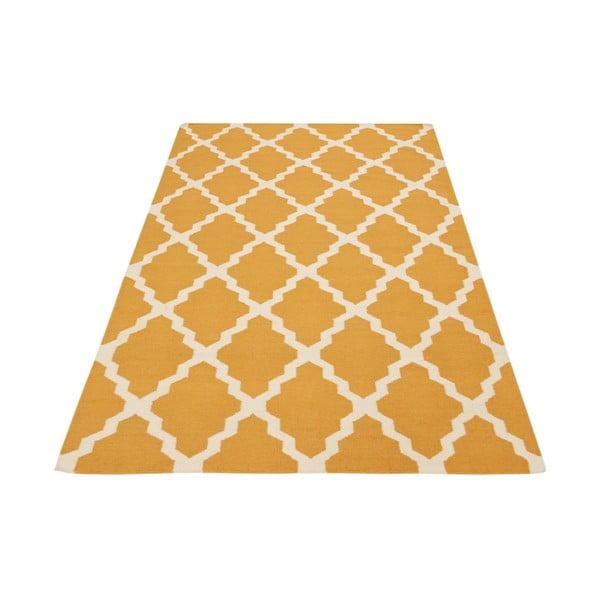 Ručně tkaný koberec Kilim Design Four Orange, 160x230 cm