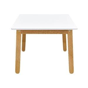 Sněhově bílý dětský stůl BELLAMY Woody