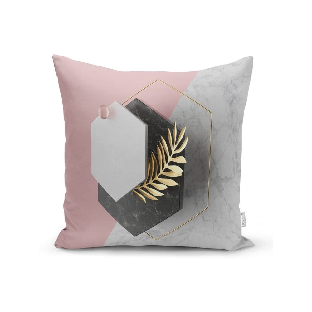 Povlak na polštář Minimalist Cushion Covers BW Marble Octagons, 45 x 45 cm