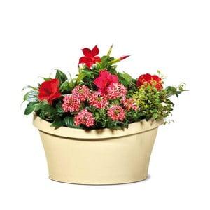 Venkovní květináč Living 30x30 cm, světlý
