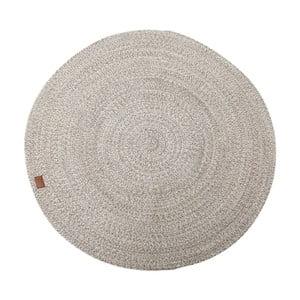 Béžový koberec Hawke&Thorn Parker,Ø130cm