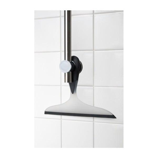 Černobílá koupelnová stěrka Wenko Loano