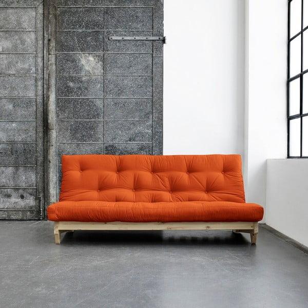 Canapea extensibilă Karup Fresh Natural/Orange
