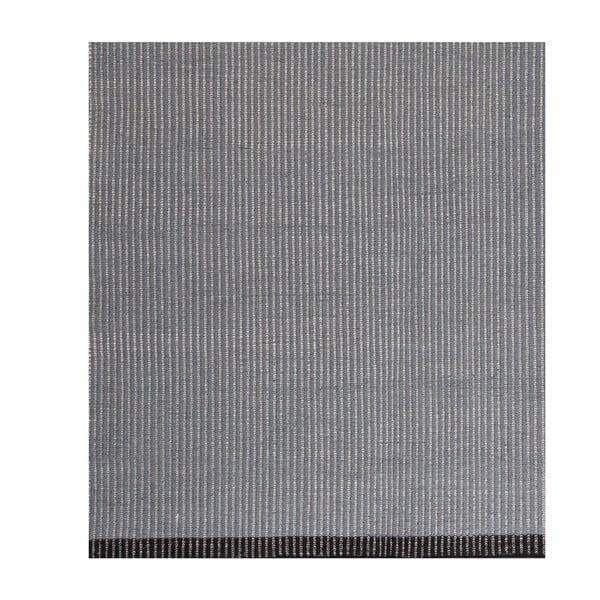Modrý vlněný koberec Linie Design Hisa, 160x230cm