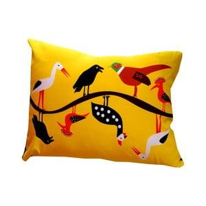 Polštář s náplní Yellow Country, 40x50 cm