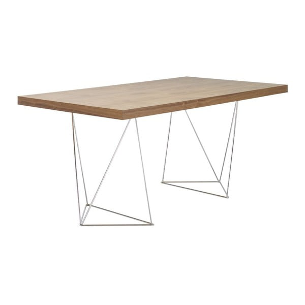 Stůl Multi Walnut, 160x90x77 cm