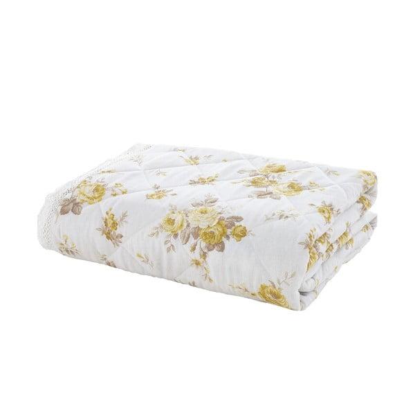 Přehoz přes postel Annabella Lemon, 200x200 cm