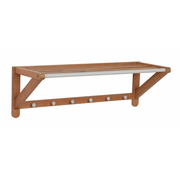 Cuier de perete din lemn de stejar Rowico Metro