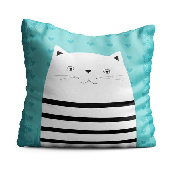 Detský vankúš OYO Kids Animals With Stripes Cat, 40 x 40 cm