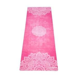 Růžová podložka na jógu Yoga Design Lab Mandala, 1,8 kg
