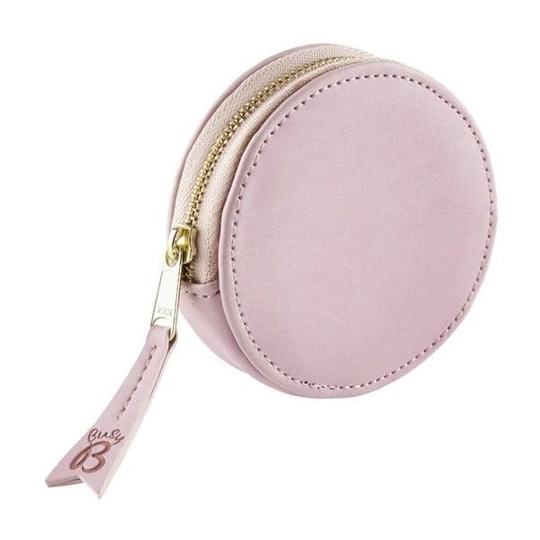 Różowa portmonetka na drobne i klucze Busy B