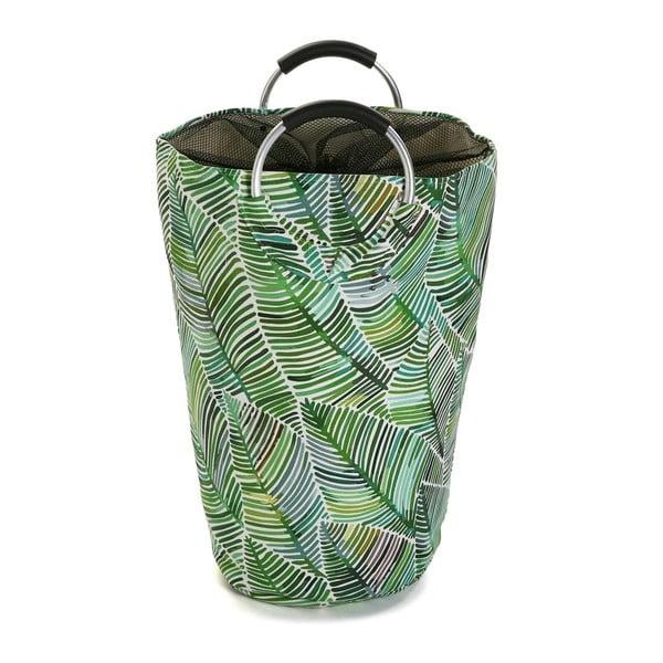 Bavlněný koš na prádlo Versa Tropical, výška 58cm