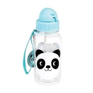 Dětská láhev s brčkem Rex London Miko The Panda, 500ml
