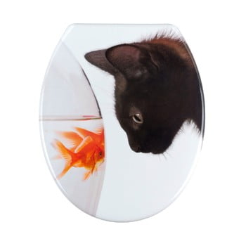 Capac WC Wenko Fish & Cat, 45 x 37,5 cm imagine