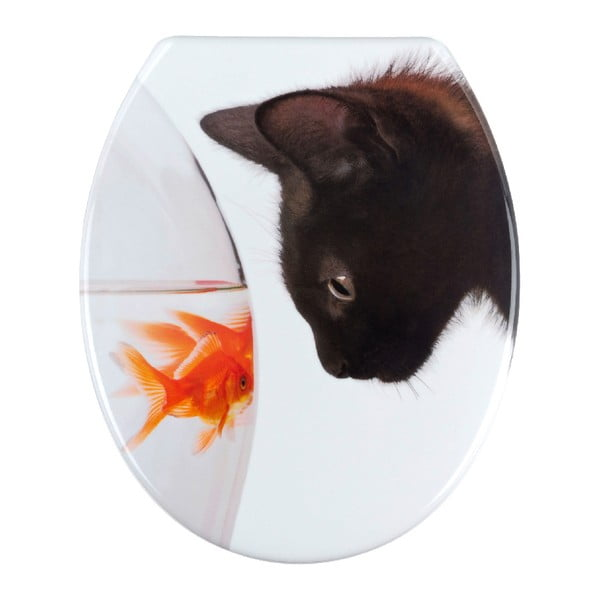Fish & Cat WC-ülőke, 45 x 37,5 cm - Wenko
