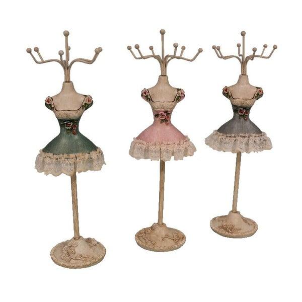 Set 3 stojanů na šperky Mannequin