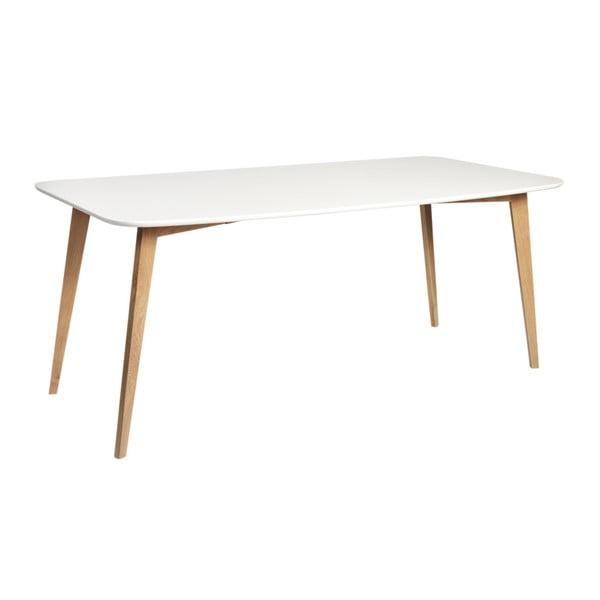 Arild étkezőasztal tölgyfa lábakkal, hosszúság 180 cm - Folke