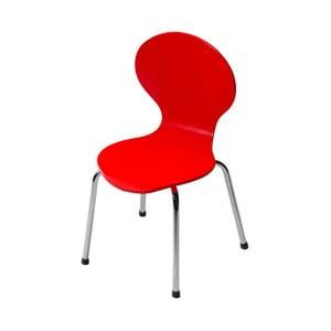 Dětská červená židle DAN-FORM Denmark Child