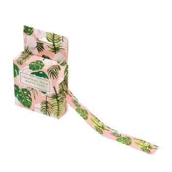 Bandă adezivă decorativă washi Rex London Tropical Palm imagine