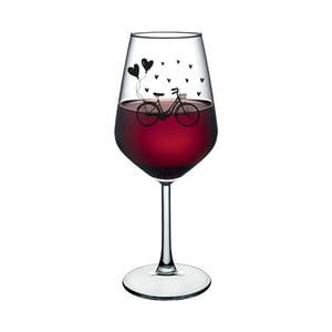 Sklenice na víno Vivas Bicycle, 345 ml
