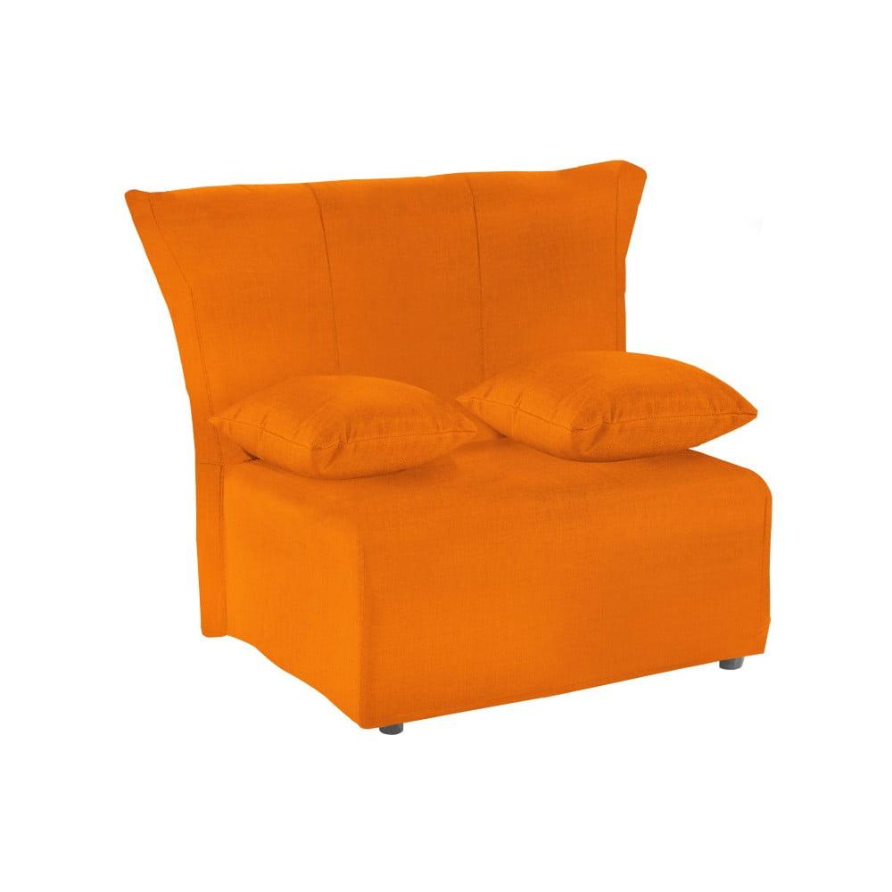 Oranžové rozkládací křeslo 13Casa Cedro