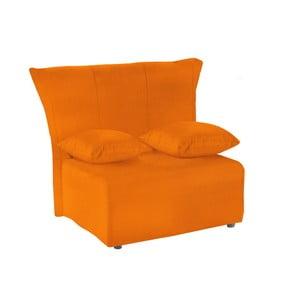 Fotoliu extensibil 13Casa Cedro, portocaliu