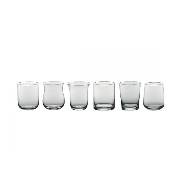 Sada 6 sklenic na vodu Desigual Transparent